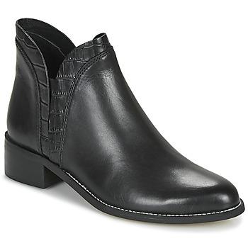 Schuhe Damen Boots André NATHO Schwarz