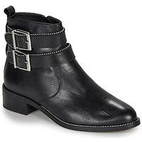 Schuhe Damen Boots André LOTUS Schwarz
