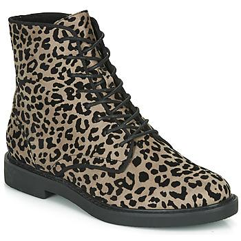 Schuhe Damen Boots André NERON Grau