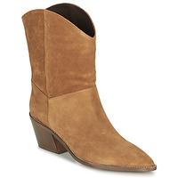 Schuhe Damen Low Boots André MINNESOTA Camel