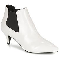 Schuhe Damen Low Boots André LUCIANA Weiss