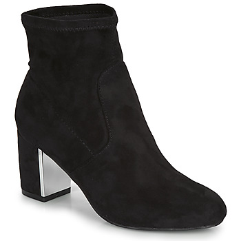 Schuhe Damen Low Boots André LAUGHING Schwarz