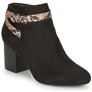 Schuhe Damen Low Boots André EVA Schwarz