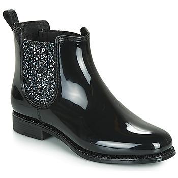 Schuhe Damen Boots André BULLE Schwarz