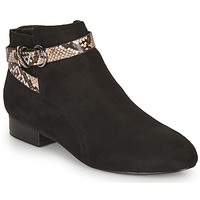 Schuhe Damen Low Boots André EVANE Schwarz