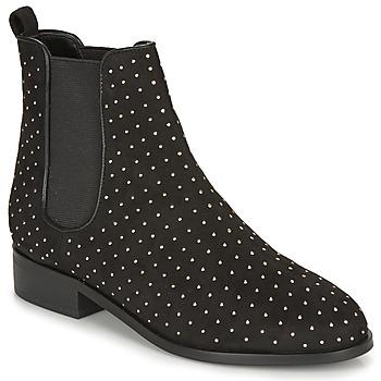 Schuhe Damen Boots André LOULLA Schwarz