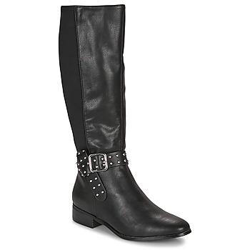 Schuhe Damen Klassische Stiefel André NOLLAN Schwarz