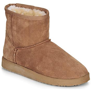 Schuhe Damen Boots André TOUSNOW Camel