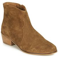 Schuhe Damen Boots André ELEANA Camel