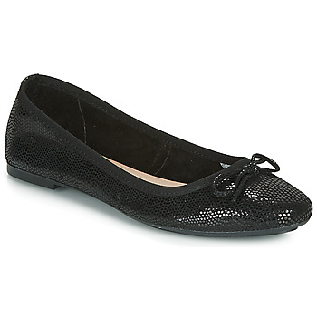 Schuhe Damen Ballerinas André PIETRA Schwarz