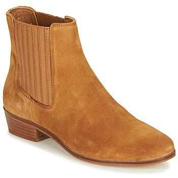 Schuhe Damen Boots André ECUME Camel