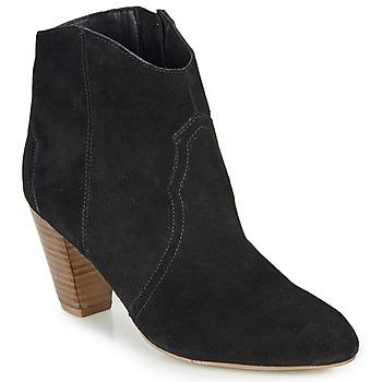 Schuhe Damen Low Boots André ETOILA Schwarz