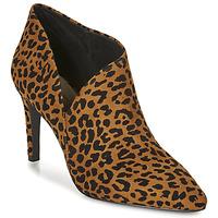 Schuhe Damen Low Boots André LYNA Leopard