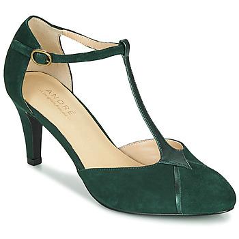 Schuhe Damen Pumps André LOUCIANE Grün