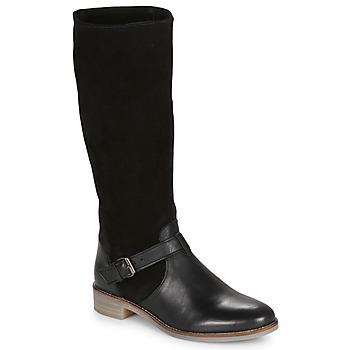 Schuhe Damen Klassische Stiefel André ELIA Schwarz