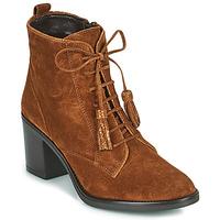 Schuhe Damen Low Boots André MAGICIENNE Camel