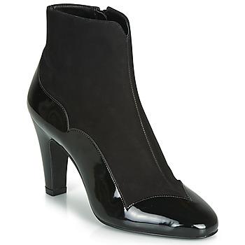 Schuhe Damen Low Boots André LA ROMANTIQUE Schwarz