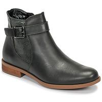 Schuhe Damen Low Boots André ESMERALDA Grün