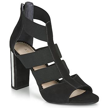 Schuhe Damen Sandalen / Sandaletten André LA  DETERMINEE Schwarz