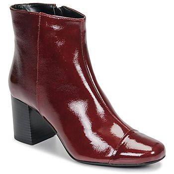 Schuhe Damen Low Boots André LANA Rot