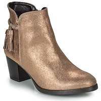Schuhe Damen Low Boots André MARYLOU Goldfarben