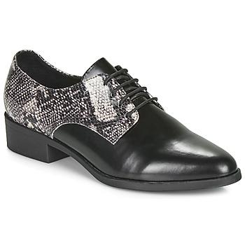 Schuhe Damen Derby-Schuhe André NOUGATINE Schwarz / Motif