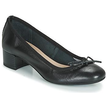 Schuhe Damen Ballerinas André POEME Schwarz
