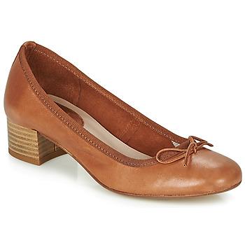 Schuhe Damen Ballerinas André POEME Camel