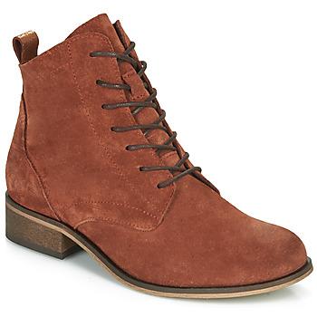 Schuhe Damen Boots André GODILLOT Orange