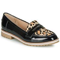 Schuhe Damen Slipper André PORTLAND Leopard