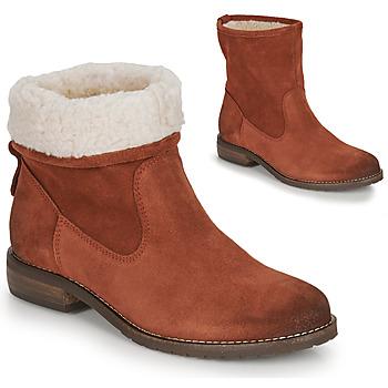 Schuhe Damen Boots André ERIKA Orange
