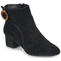 Schuhe Damen Low Boots André LOUISON Schwarz