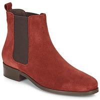 Schuhe Damen Boots André CHATELAIN Rot