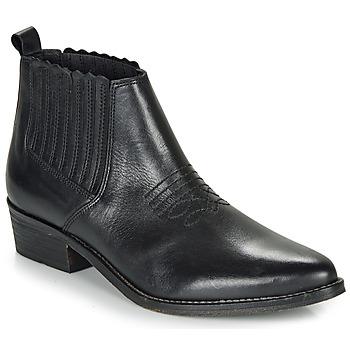 Schuhe Damen Boots André MANA Schwarz