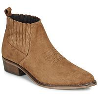 Schuhe Damen Boots André MANA Camel