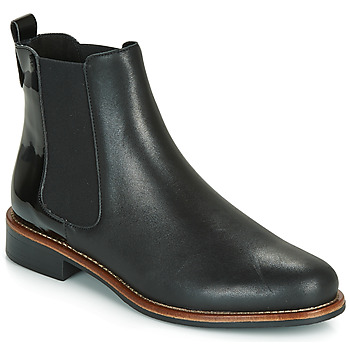 Schuhe Damen Boots André LISSANDRO Schwarz