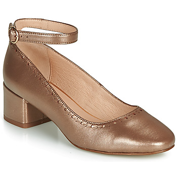 Schuhe Damen Ballerinas André LAUREATE Goldfarben