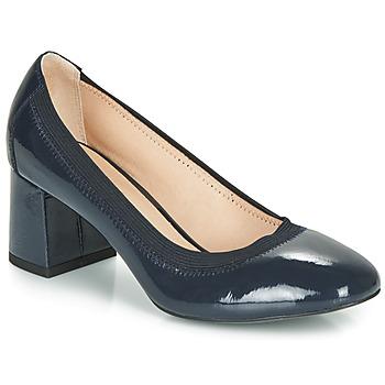 Schuhe Damen Pumps André LAYA Marine