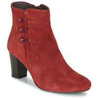 Schuhe Damen Boots André MAJESTEE Rot
