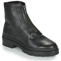 Schuhe Damen Boots André NAIS Schwarz