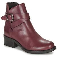 Schuhe Damen Boots André NELL Bordeaux