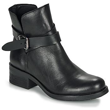 Schuhe Damen Boots André NELL Schwarz