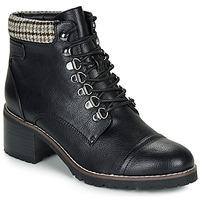 Schuhe Damen Boots André EIGER Schwarz