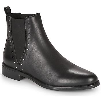 Schuhe Damen Boots André NOTTING HILL Schwarz