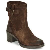 Schuhe Damen Low Boots André MANDARINE Braun