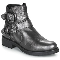 Schuhe Damen Boots André NORCROSS Silbern