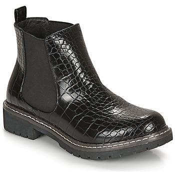 Schuhe Damen Boots André NOVA Schwarz / Motif