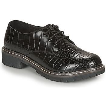 Schuhe Damen Derby-Schuhe André NEBULEUSE Schwarz / Motif
