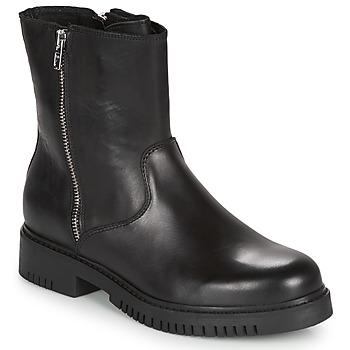 Schuhe Damen Boots André NICCOLO Schwarz