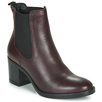 Schuhe Damen Low Boots André MABELLE Bordeaux